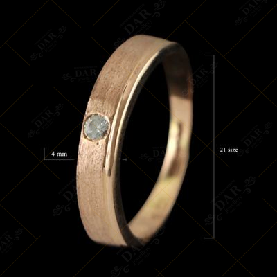 18 CT GOLD GENTS RING