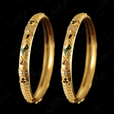 22 KT GOLD BOMBAY BANGLE