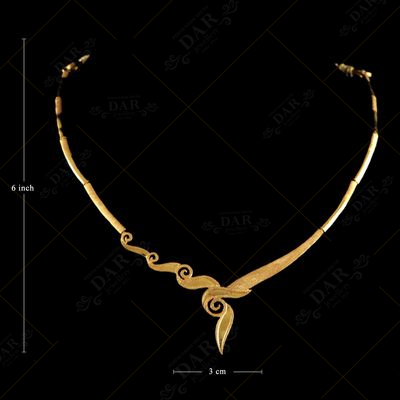 22 KT GOLD FANCY NECKLACE