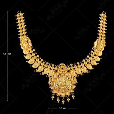 22 KT GOLD FANCY HARAM